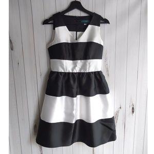 Pim + Larken Stripe Party Dress